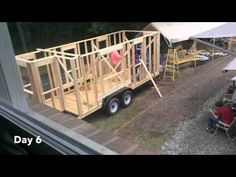 Tiny House Time Lapse - YouTube