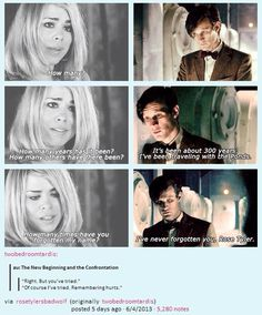 This impacted me more because he is the doctor who forgets. Ten was who regrets and eleven was forget so the fact the he always remembered I matter what really impacts and proves a point for the not full whovians Rose Tyler, Benedict Cumberbatch, Serie Doctor, Male Doctor, Rose And The Doctor, Doctor Who Rose, Def Not, Fandoms, Love Dogs