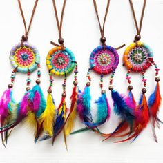 """befairbefunky: """" ❤ OH LA LA ! So in Love with Magical Dreamcatchers ❤ #Hippy #Rainbow Warriors Musthave! ♡ """"The Future belongs to Those Who believe in the Beauty of their Dreams."""" ❤ #Dreamcatcher for the #HappiHome sanctuary ❤..."""