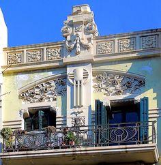 Casa Enric Cucurella  1911  Architect: Josep Domènech i Estapà
