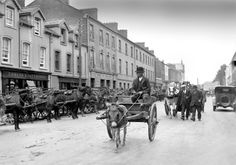Fair Day in 1930s Ireland