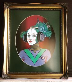"""Fuelled By Female on Instagram: """"I love this take on Daniel's Ada St. Lovelace design. Here he has clothed her as though she is ready to journey into the depths of space…"""" Journey, Love, Female, Space, Clothes, Instagram, Design, Art, Amor"""
