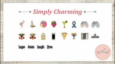 www.southhilldesigns.com/lollyb New Charmed, New South, Place Cards, South Hill, Place Card Holders, Charms, Products, Gadget