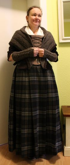 Outlander - Mauras Outfit
