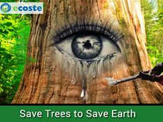 Save #Trees to Save #Earth