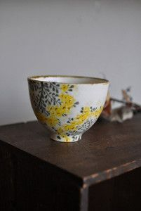 Japanese tea cup by Aya Yamanobe: just love to imagine all the peaceful moments shared with it