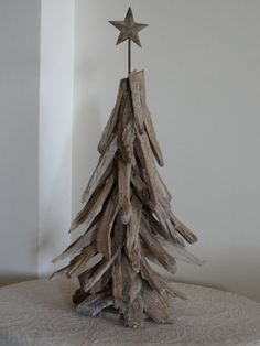 Wooden Christmas Tree  Christmas Decoration by SteliosArt on Etsy, €62.00