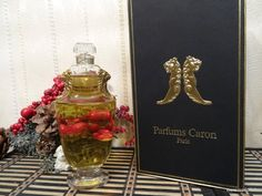 Nocturnes Caron 90ml. Perfume Vintage Baccarat by MyScent on Etsy