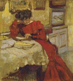 Madame Hessel por Edouard Vuillard, 1904