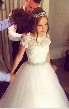 Larissa Manoela, Vestido de debutante, festa 15 anos