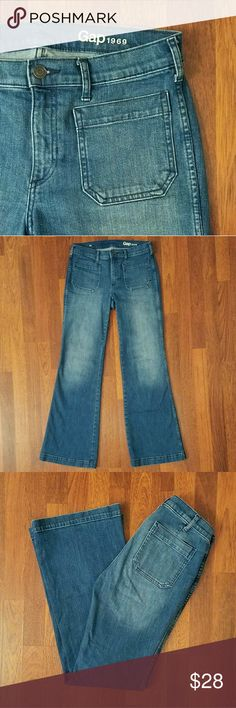 """Gap Flare Jeans Great Gap flared jeans in excellent condition  32"""" Inseam, 31"""" waist, 9""""rise GAP Jeans Flare & Wide Leg"""