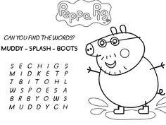 free peppa pig activity printables