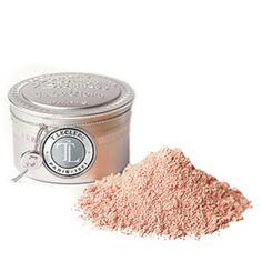 T. LECLERC Puder sypki. Zawiera m.in. talk, naturalną skrobię ryżową i tlenek cynku. Nie zawiera parabenów. Nie alergizuje.