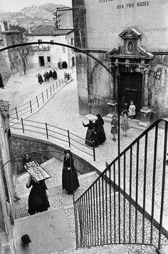 Henri Cartier-Bresson, Aquila degli Abruzzi, 1952
