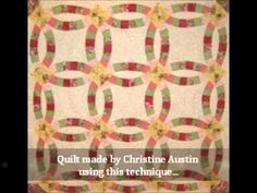 Easy Double Wedding Ring Quilt Pattern - Paperback Version