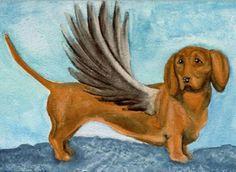 Dachshund Angel