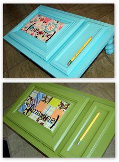Ucreate: Cupboard Door into Art Desk by iCandy Handmade