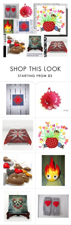 Red January by oxysfinecrafts on Polyvore featuring Calavera and Hedi Slimane