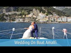 Wedding On Boat Amalfi.