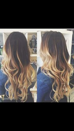 I'm in love with her hair 😍😍 Messy Hairstyles, Pretty Hairstyles, Hairstyle Ideas, Hair Day, New Hair, Hair Color And Cut, Ombre Hair, Blonde Hair, Blonde Waves