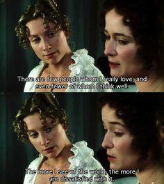 Elizabeth and Jane    { Pride and prejudice~1995}