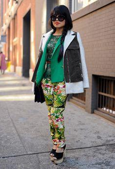 New York Fashion Week AW13 Street Style