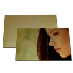 Gold Metal Pearl Sparking Board-10*15cm
