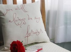 Valentine's Day You Will Always Be My Forever Throw Pillow