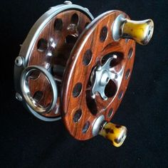 """. Finished!  3-3/4"""" Seaspey reel in Cocobolo and gunmetal stainless steel, 10.7 oz."""