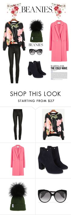 """""""beanies"""" by whitecastlenine ❤ liked on Polyvore featuring ElleSD, Harris Wharf London, Monsoon and Alexander McQueen"""