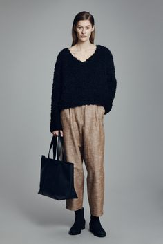 Tsula Sweater, Lebel Trousers, Tori Bag and Chelsea Boot | Samuji FW15 Classic Collection