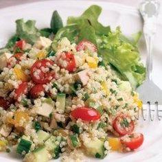 Quinoa & Smoked Tofu Salad - EatingWell.com