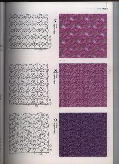 Delicadezas en crochet Gabriela: Más de 100 puntos