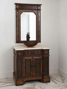 "32"" Esperanza Single Vessel Sink Vanity - TradeWindsImports"