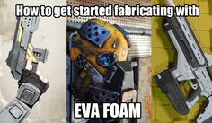 This site has a bunch of great tips from how to weather your EVA foam armor, to how to safely put straps on and how-tos for painting and so forth.