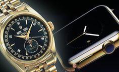 Rolex sincline devant lApple Watch