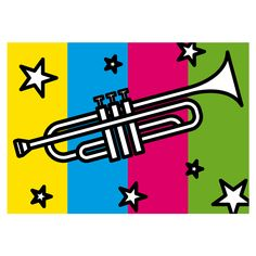 DOWNLOAD YOUR ART for only 2,99 euro's! http://www.pitpop.it/prodotto/trumpet/