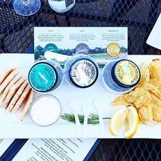 Caviar & bubbles tasting. . 📷: @thebonvivantdiaries at @domainecarneros #VisitNapaValley 🥂
