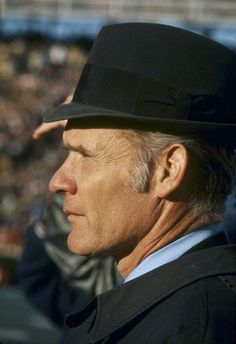 "Tom Landry super bowl VI. This is when Dallas Cowboy football was a ""real"" sport and America's TEAM!"