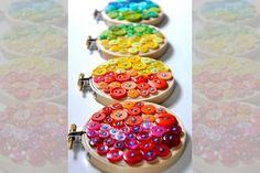 Ideias com botões - Portal de Artesanato - O melhor site de artesanato com passo a passo gratuito