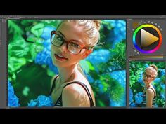digital painting / sunny garden [ time lapse ] - YouTube