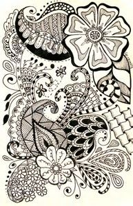 Resultado de imagen de Drawings of Paisley Design
