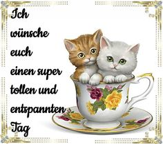 ᐅ Schönen Tag Bilder - Schönen Tag GB Pics - GBPicsOnline Teacup Animals, Greetings Images, Good Morning, Tea Cups, Tags, Instagram, Blogspot Video, Super, Advent