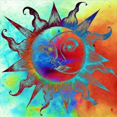 Sun and Moon in Colour!