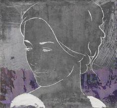 La Belle V | Casper Faassen | De Kunstuitleen Den Haag Drawing Sketches, Drawings, Line Art, First Love, Contemporary Art, Abstract Art, Pastel, Artwork, Portraits