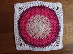 The tutorial explains how to make the small and the large circles, and how to make them into a square.