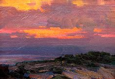 Ovanes Berberian, Artist, Landscape and Still Lfe Artist, bold use os color, Waterhouse Gallery Santa Barbara California