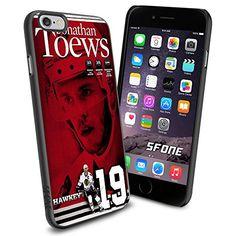 "NHL Jonathan Toews Chicago Blackhawks iPhone 6 4.7"" Case Cover Protector for iPhone 6 TPU Rubber Case SHUMMA http://www.amazon.com/dp/B00WU0C466/ref=cm_sw_r_pi_dp_lznqvb1Z9NMSA"