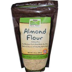 Now Foods, Almond Flour, 10 oz (284 g) - iHerb.com