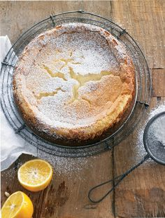 Lemon cheesecake from Cheese by Georgeanne Brennan & Maren Caruso